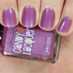 Candy Lacquer: PB&J Duo Swatches & Review