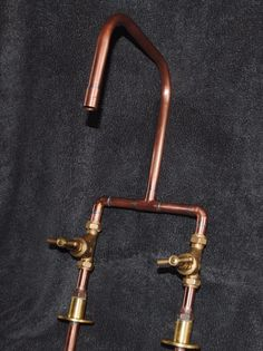 Handmade Bespoke Copper Kitchen Mixer Tap - Industrial - Antique - Vintage in Home, Furniture & DIY, Kitchen Plumbing & Fittings, Kitchen Taps | eBay