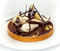 Pierrick Boyer's Almond Coffee & Chocolate Tart is a work of art, that is just tantalising. We loved watching Pierrick whip up his magic on the All Star Theatre and Delicious Kitchen during Cake Bake & Sweets Show Melbourne.