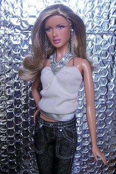Halter top with jeans