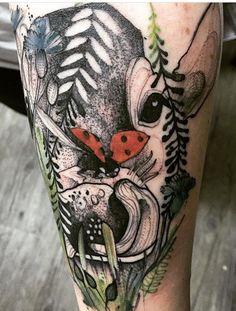 Joanna Swirska Dzo Lama cow tattoo