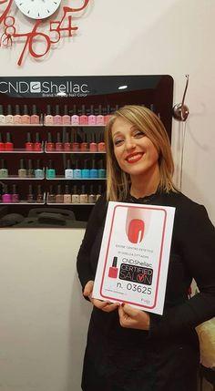 EDONE' CENTRO ESTETICO di Giulianova Lido ha ottenuto CND Shellac Certified Salon. Scopri anche tu come ottenerlo e partecipa ai corsi! http://www.cndworld.it http://www.cndworld.it/store-locator