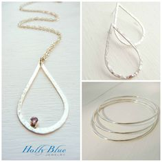 Holly Blue Jewelry www.hollybluejewelry.com  Handcrafted sterling silver jewelry