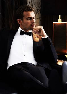 mardan in his tux waiting for Xavier to get ready for the ball.