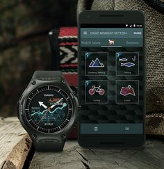 Casio WSD-F10 Smart Outdoor Watch -- Casio's new Android Wear smart watch is built for outdoor action. It's water resistant up to 164 feet with a pressure sensor, compass and accelerometer & has a bunch of built-in apps. RunKeeper for running & cycling, ViewRanger GPS gives you location data, route info, & altitude graphs and MyRadar provides instant weather updates. Available April 2016. $500