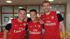 Three of my favorite Gunners.