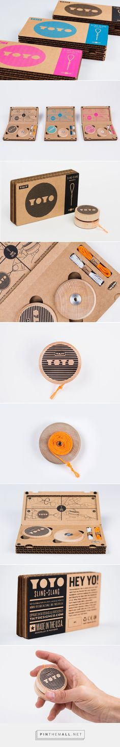 Sling-Slang YOYO on Packaging of the World - Creative Package Design Gallery. - a grouped images picture - Pin Them All Brand Identity, Branding, Corrugated Box, Brand Promotion, Packaging Design Inspiration, Creative Package, Package Design, Gallery, North America