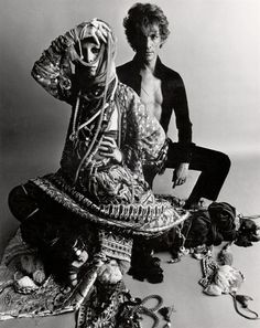 Giorgio di Sant' Angelo + Elsa Peretti 1969 http://tinaperlmutter.com/blog/tag/giorgio-di-sant-angelo/