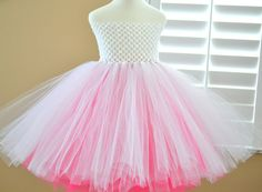Custom Made Two Color Layered Basic Tutu Dress  All by 1583Designs, $32.99