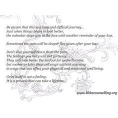 Grief process