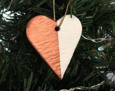Handmade Heart Decoration / Copper
