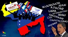 #CaricaturasteleSUR | América Latina alza su voz contra el intervencionismo de #EEUU | http://tlsur.net/1Ev4ww7