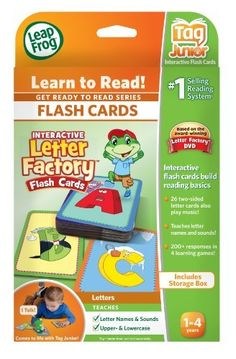 LeapFrog Tag Junior Interactive Letter Factory Flash Cards by LeapFrog, http://www.amazon.com/dp/B007U7LZQO/ref=cm_sw_r_pi_dp_Pquoqb11752HE