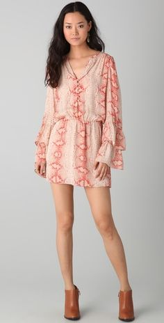 Parker - Double Flared Sleeve Dress