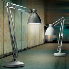Anglepoise original 1227 giant floor lamp anglepoise floor lamp nella vetrina leucos the great jj modern italian designer floor lamp aloadofball Gallery