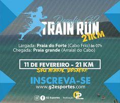 ESPORTE: Meia maratona Cabo Frio - Arraial do Cabo - 21km