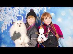 Disney's Frozen Anna Makeup Tutorial - YouTube
