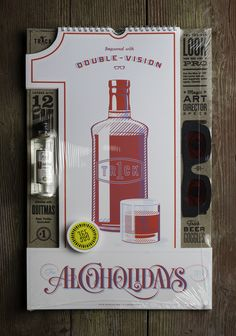 1 Trick Pony celebrated their 10th anniversary by creating Alcoholidays, an awesome 3D calendar of their drunken nights.