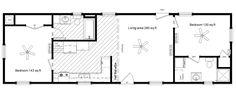 The Homestead Series - Texas Log Cabin Manufacturer Mobile Home Floor Plans, Shed Floor Plans, Shed To Tiny House, Cabin House Plans, Little House Plans, Small House Plans, Shed Homes, Cabin Homes, Mini Cabins