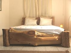 I actually like the window treati. The bed is gorgeous but I'm on a window treatment mission #wood. bed frame