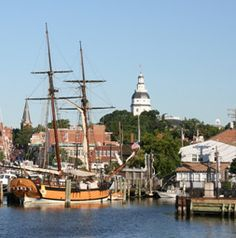 Annapolis is a charming Chesapeake Bay town with great history and wonderful restaurants and shops.