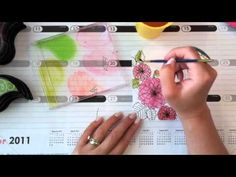 Make It Monday #77: Watercolor With Ink Pads - YouTube