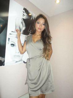 Cliente Delphina veste:  Vestido Viena