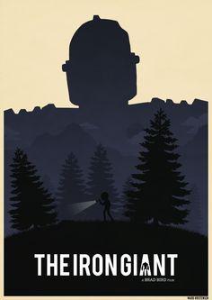 Iron Giant Poster by Deluxepepsi.deviantart.com on @DeviantArt