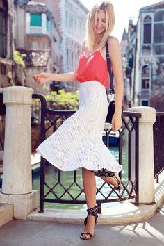 lover skirt & isabel marant sandals | tuula