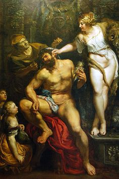 Peter Paul Rubens - Hercules and Omphale (1602-1605)