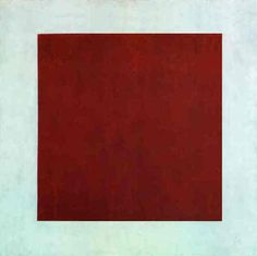 Kasimir Malevich, Red Square, 1915