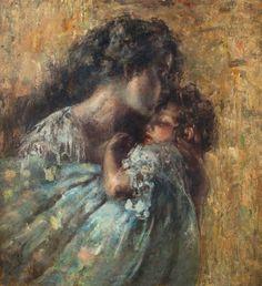 Vincenzo Irolli(1860ー1949)「Maternidad(Motherhood)」