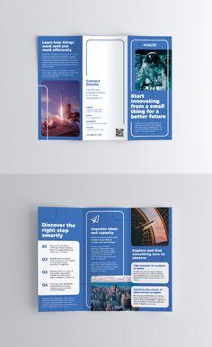 leaflet Informational Trifold Brochure One of the m Leaflet Design, Booklet Design, Book Design Layout, Graphic Design Brochure, Brochure Layout, Tri Fold Brochure Design, Company Brochure Design, Corporate Brochure Design, Flyer And Poster Design