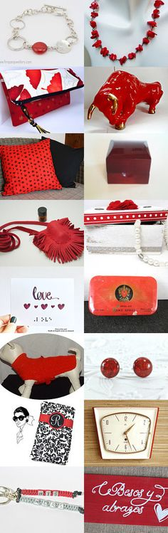 Red-a-houlic by Margie on Etsy--Pinned+with+TreasuryPin.com
