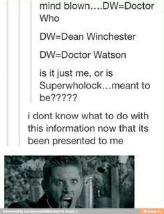 Superwholock confirmed