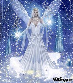 I am Master Winter Fairy Queen of the Mountainais Snow Fairy, Winter Fairy, Fairy Pictures, Angel Pictures, Beautiful Gif, Beautiful Fairies, Beautiful Pictures, Elfen Fantasy, Fantasy Art