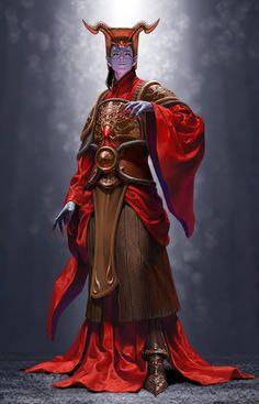 ArtStation - the Oriental Demon, Junggeun Yoon