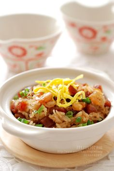 Sticky Fried Rice with Cured Pork 生炒糯米飯 (港式風味)