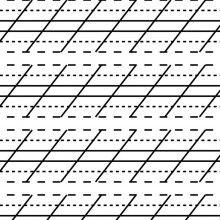 52 degree guide sheet