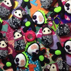 Mini matryoshkas dolls e Zombies by Dindadoodle