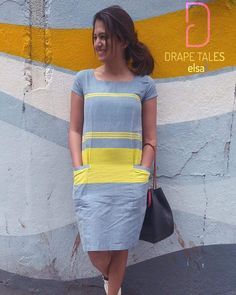 Stylish Summer Outfits, Casual Outfits, Frock Fashion, Fashion Dresses, Western Dresses For Girl, Frock Models, Casual Frocks, Frocks And Gowns, Kurta Neck Design