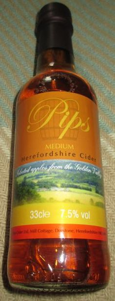 FOODSTUFF FINDS: #Pips Medium #Herefordshire #Cider (Cosford @PipsCider) [By @SpectreUK]