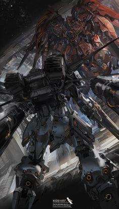 Infinite Beauty of the Clang Clang Sci Fi Anime, Mecha Anime, Gundam Wing, Gundam Art, Science Fiction, Mecha Suit, Gundam Wallpapers, Arte Robot, Alien Art