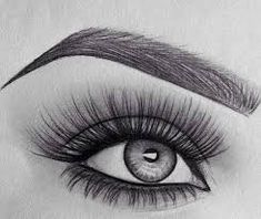 Best 25 Eye drawings ideas in eye drawing with makeup collection - ClipartXtras Makeup Drawing, Drawing Eyes, Painting & Drawing, Human Drawing, Wall Drawing, Amazing Drawings, Beautiful Drawings, Easy Drawings, Beautiful Images