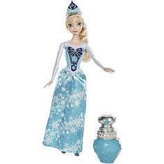 Disney-Frozen-Elsa-Doll-Play-Toy-Gift-Girl-Child-Changing-Color-Perfume-Bottle