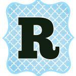Blue_Black Letter_R