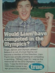 No way. That's so cool. Go Liam!