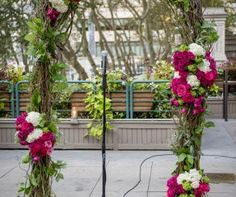 Floral Arch with Lus