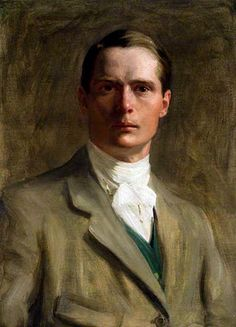 Self-portrait - Brian Hatton (1887-1916) was a British artist. He was born in Broomy Hill, Herefordshire, & killed in action during the First World War. His works showed considerable promise & include local landscapes, family portraits, figure studies & book illustrations. A major exhibition of his work was displayed at the Hereford Museum & Art Gallery between November 2007 & January 2008.