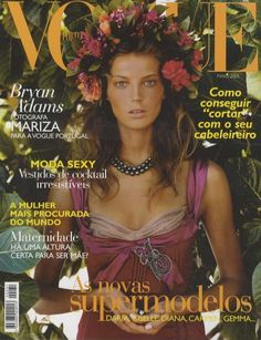 Daria Werbowy by Steven Meisel Vogue Portugal May 2005